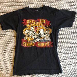 Vintage biker shirt